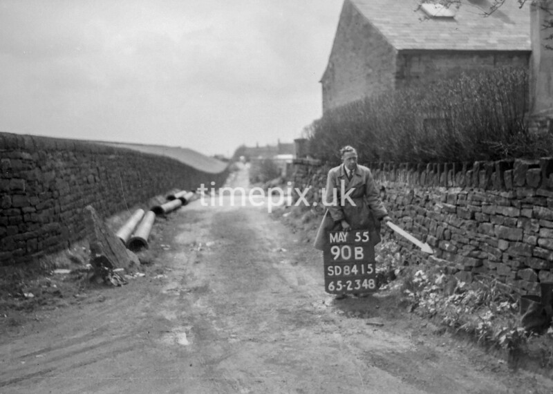 SD841590B2, Ordnance Survey Revision Point photograph in Greater Manchester