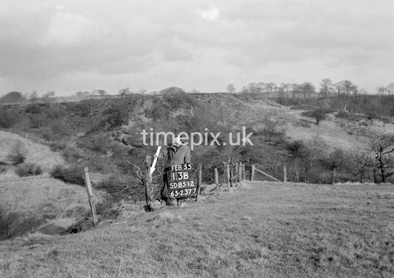 SD851213B, Ordnance Survey Revision Point photograph in Greater Manchester