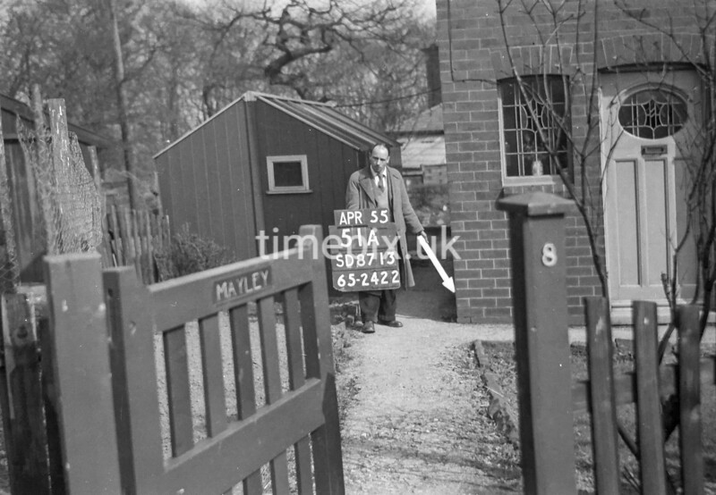 SD871351A, Ordnance Survey Revision Point photograph in Greater Manchester