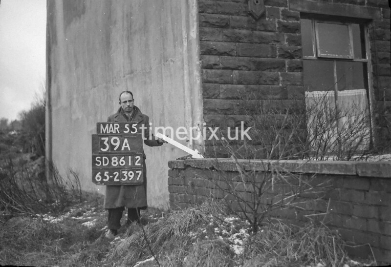 SD861239A, Ordnance Survey Revision Point photograph in Greater Manchester