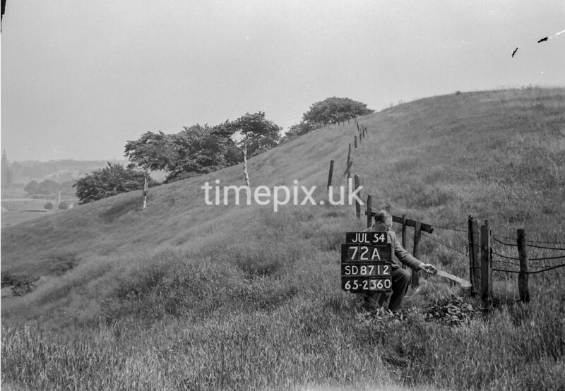 SD871272A, Ordnance Survey Revision Point photograph in Greater Manchester