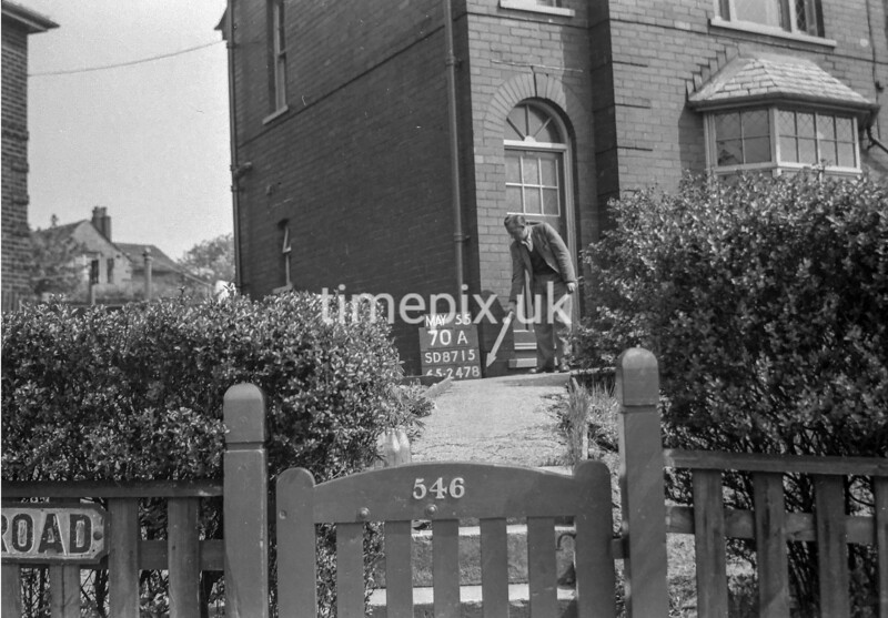 SD871570A, Ordnance Survey Revision Point photograph in Greater Manchester