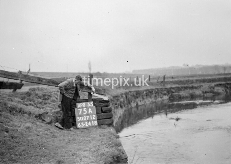 SD871275A, Ordnance Survey Revision Point photograph in Greater Manchester