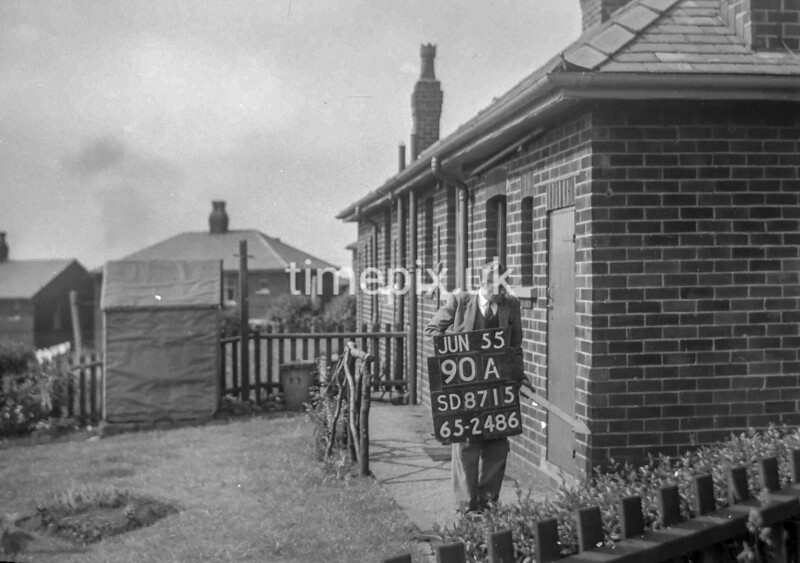 SD871590A, Ordnance Survey Revision Point photograph in Greater Manchester