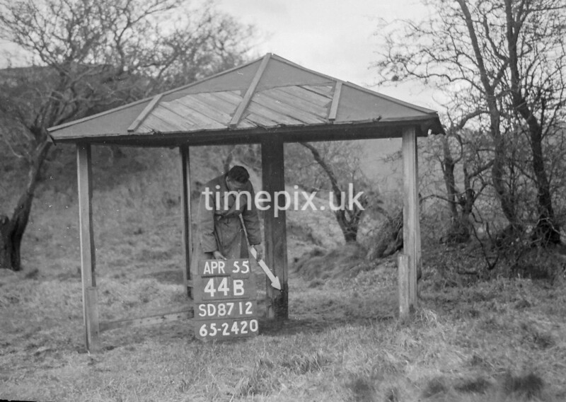 SD871244B, Ordnance Survey Revision Point photograph in Greater Manchester