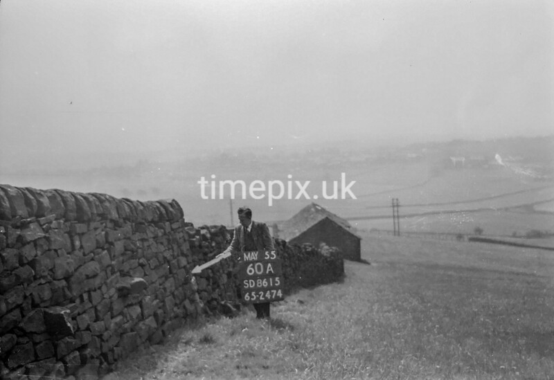 SD861560A, Ordnance Survey Revision Point photograph in Greater Manchester