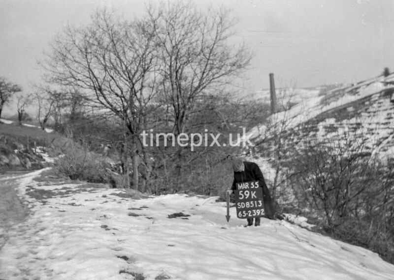 SD851359K, Ordnance Survey Revision Point photograph in Greater Manchester