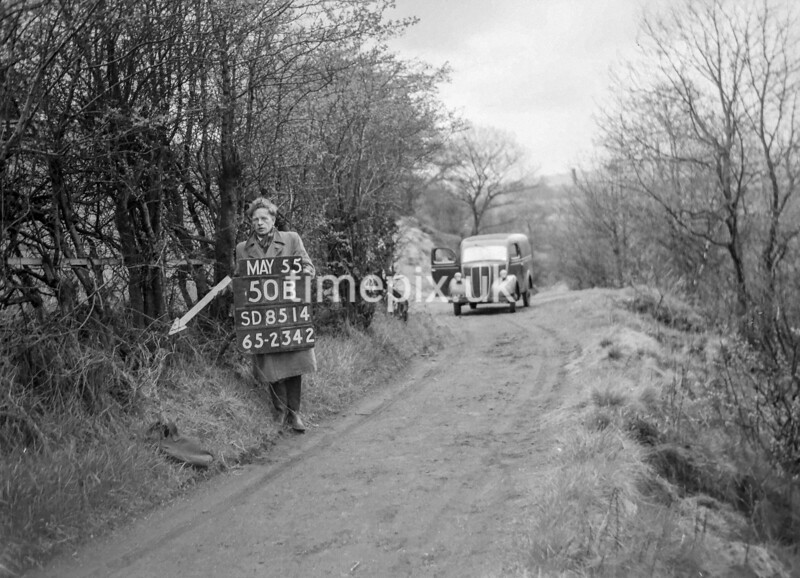 SD851450B, Ordnance Survey Revision Point photograph in Greater Manchester