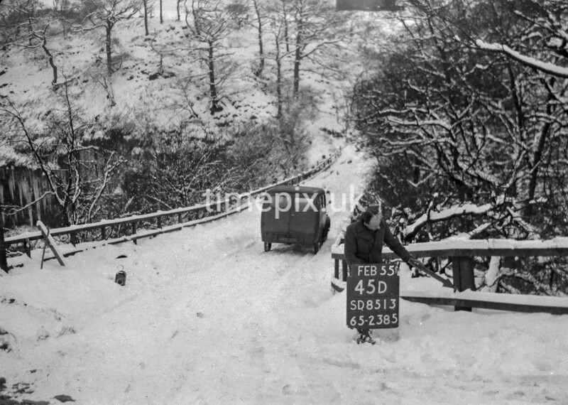 SD851345D, Ordnance Survey Revision Point photograph in Greater Manchester