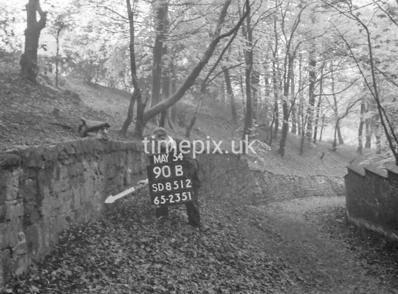 SD851290B, Ordnance Survey Revision Point photograph in Greater Manchester