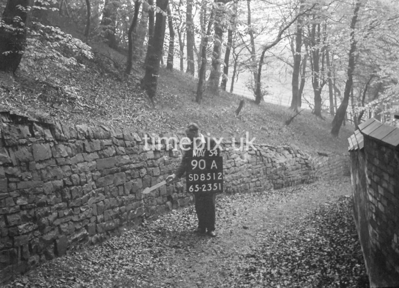 SD851290A, Ordnance Survey Revision Point photograph in Greater Manchester