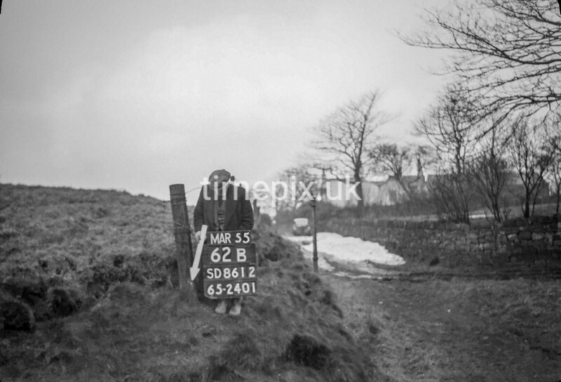SD861262B, Ordnance Survey Revision Point photograph in Greater Manchester