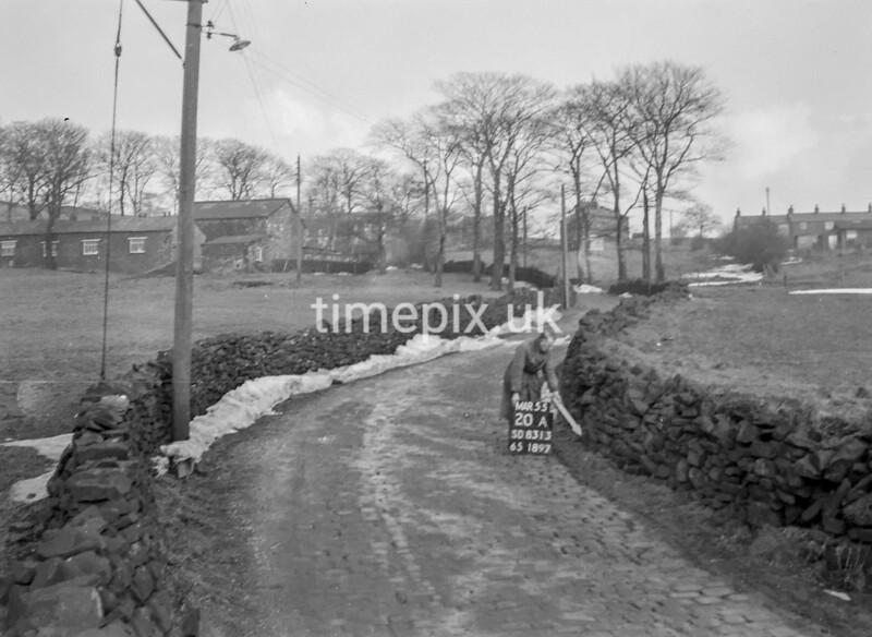 SD831320A, Ordnance Survey Revision Point photograph in Greater Manchester