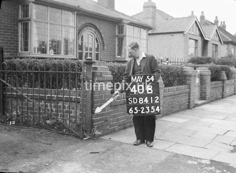 SD841240B, Ordnance Survey Revision Point photograph in Greater Manchester
