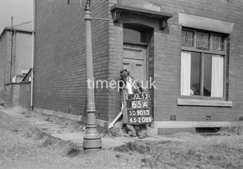 SD901365A, Ordnance Survey Revision Point photograph in Greater Manchester
