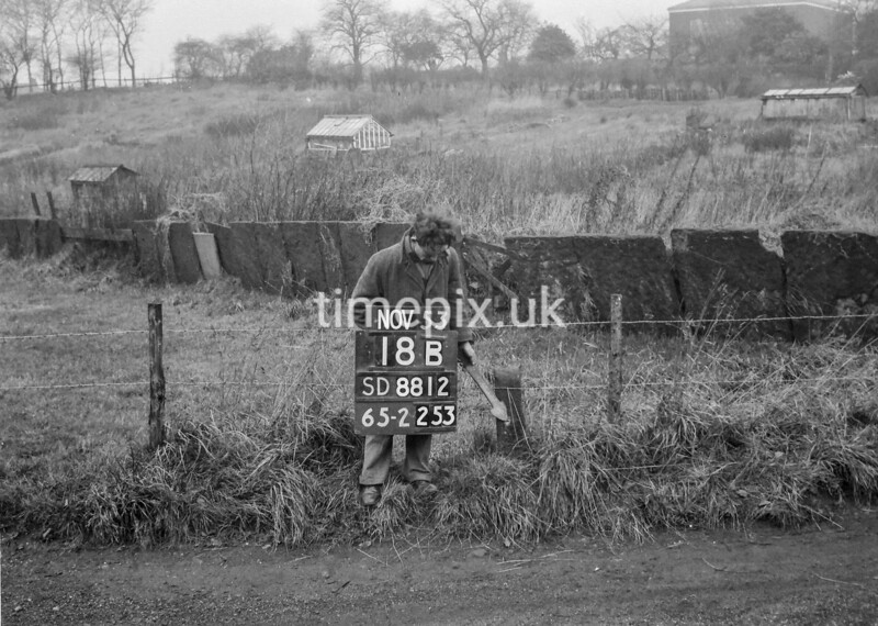 SD881218B, Ordnance Survey Revision Point photograph in Greater Manchester