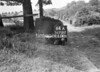 SD731264A2, Man marking Ordnance Survey minor control revision point with an arrow in 1940s