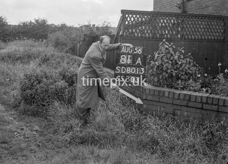 SD801381A, Ordnance Survey Revision Point photograph in Greater Manchester