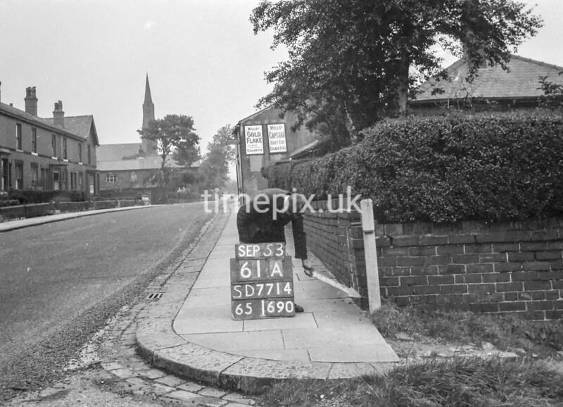 SD771461A, Ordnance Survey Revision Point photograph in Greater Manchester
