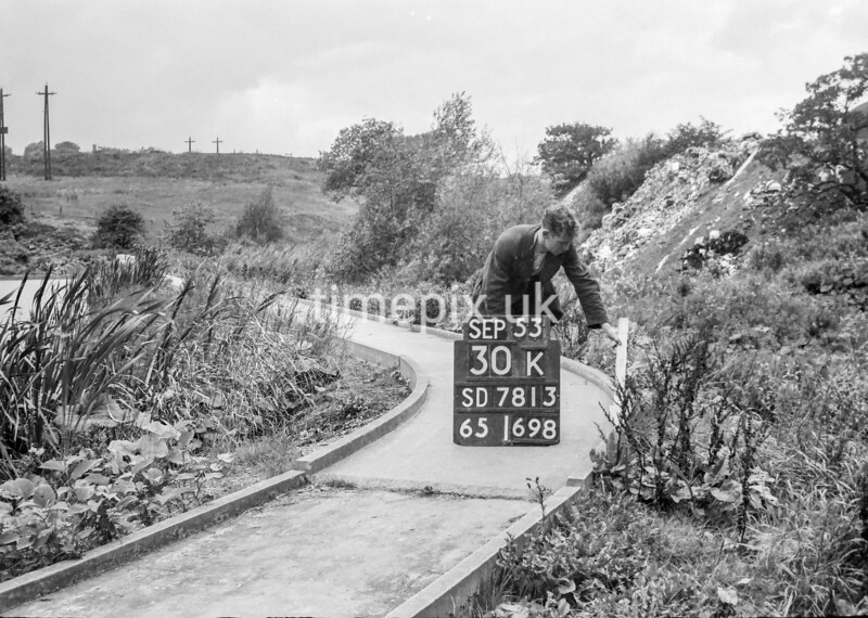 SD781330K, Ordnance Survey Revision Point photograph in Greater Manchester