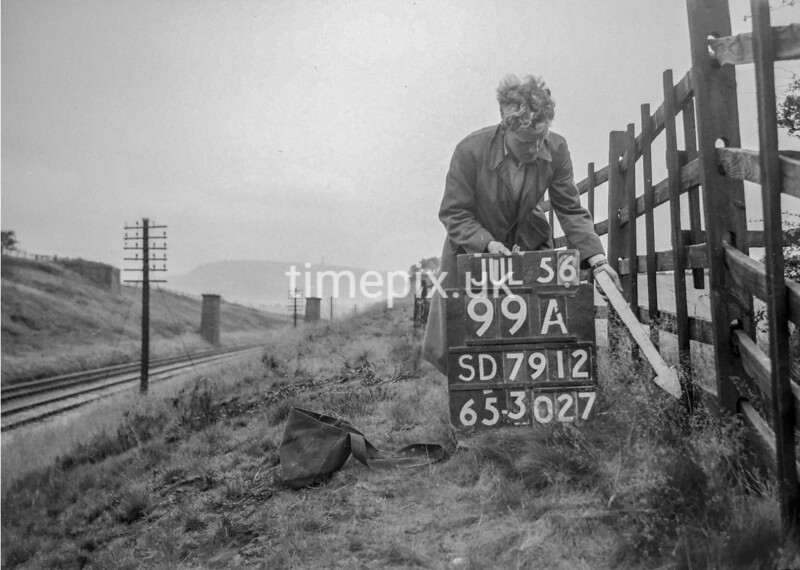 SD791299A, Ordnance Survey Revision Point photograph in Greater Manchester