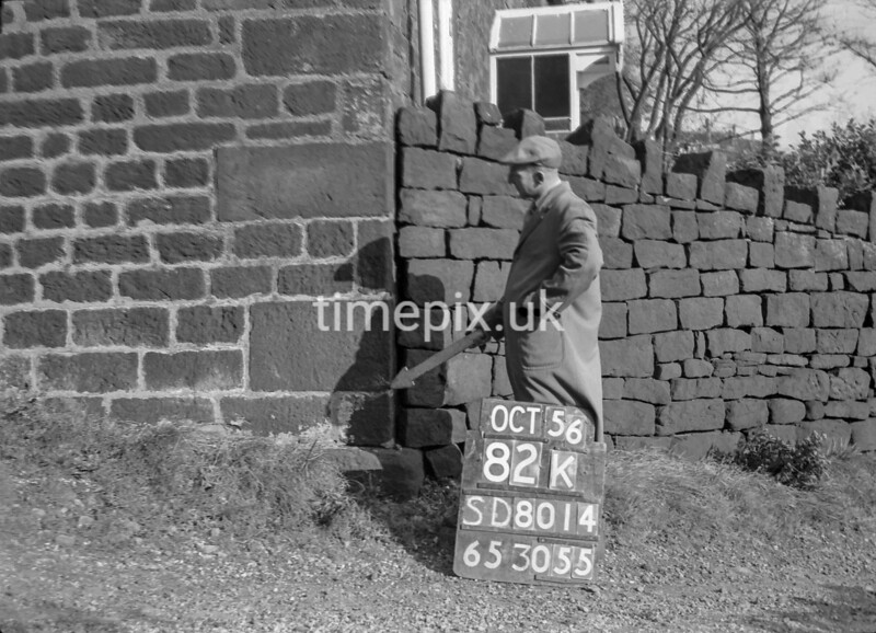 SD801482K, Ordnance Survey Revision Point photograph in Greater Manchester