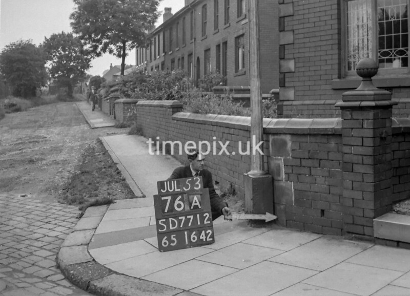 SD771276A, Ordnance Survey Revision Point photograph in Greater Manchester