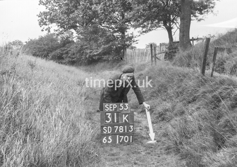 SD781331K, Ordnance Survey Revision Point photograph in Greater Manchester