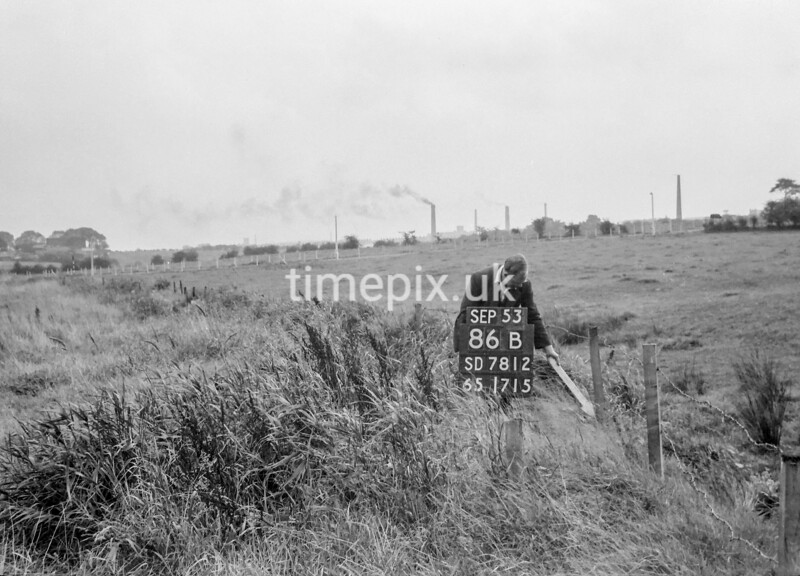SD781286B, Ordnance Survey Revision Point photograph in Greater Manchester