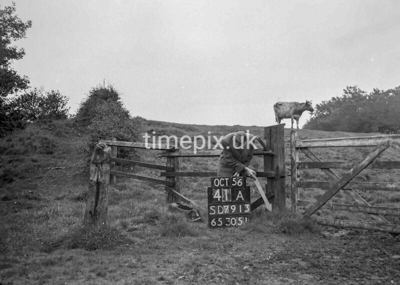 SD791341A2, Ordnance Survey Revision Point photograph in Greater Manchester