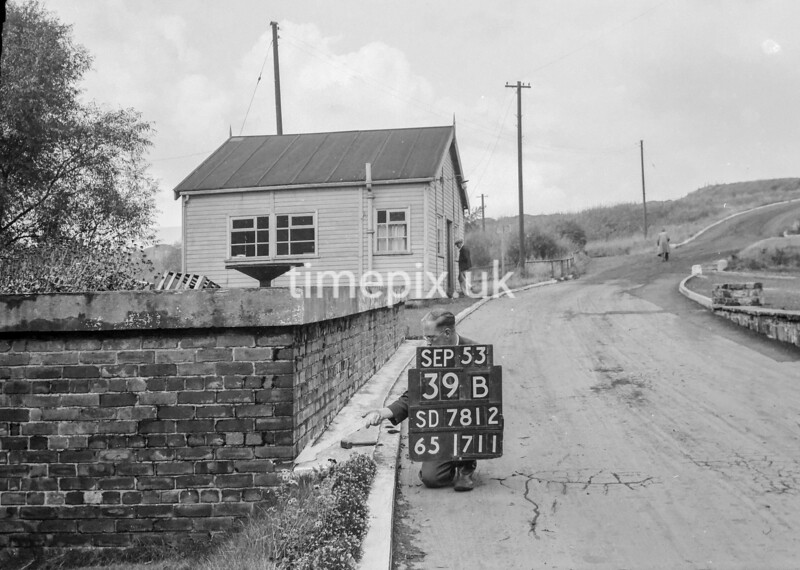 SD781239B, Ordnance Survey Revision Point photograph in Greater Manchester