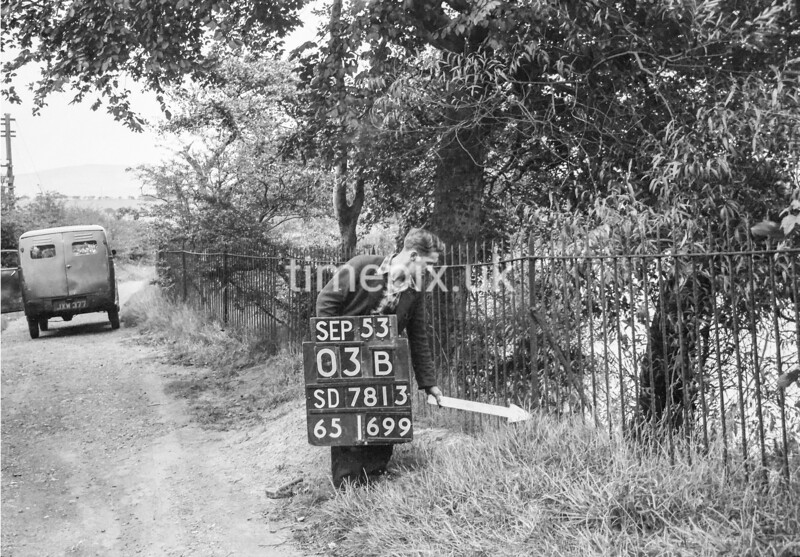 SD781303B, Ordnance Survey Revision Point photograph in Greater Manchester