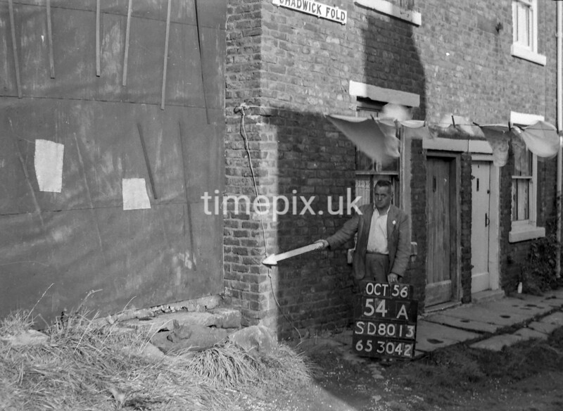 SD801354A, Ordnance Survey Revision Point photograph in Greater Manchester