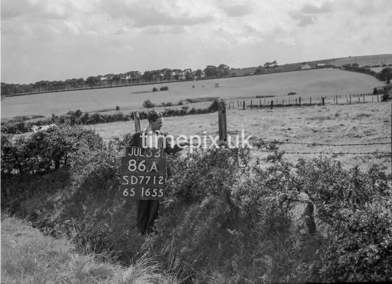 SD771286A, Ordnance Survey Revision Point photograph in Greater Manchester