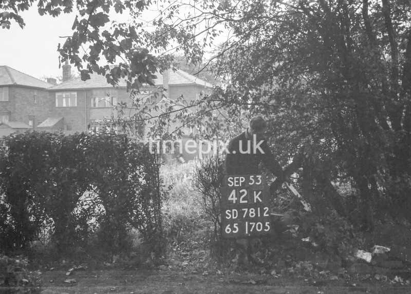 SD781242K, Ordnance Survey Revision Point photograph in Greater Manchester