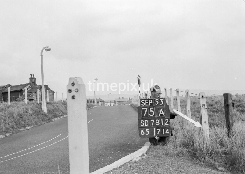 SD781275A, Ordnance Survey Revision Point photograph in Greater Manchester