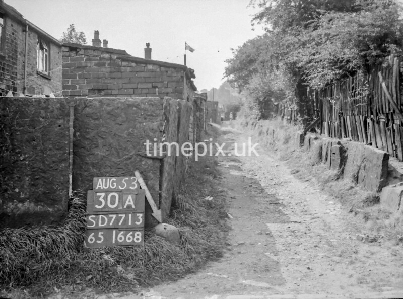 SD771330A, Ordnance Survey Revision Point photograph in Greater Manchester