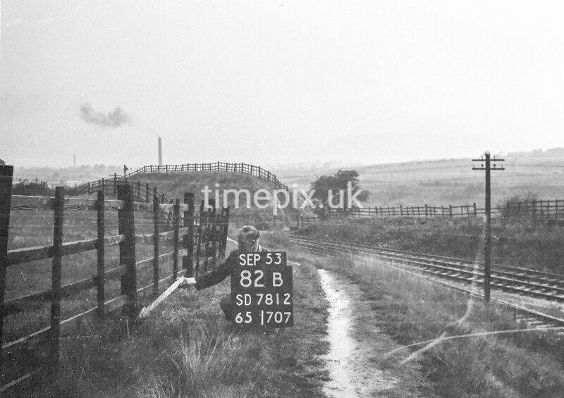 SD781282B, Ordnance Survey Revision Point photograph in Greater Manchester