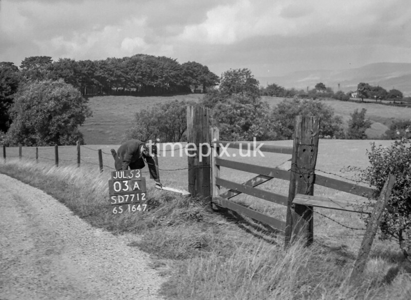 SD771203A, Ordnance Survey Revision Point photograph in Greater Manchester