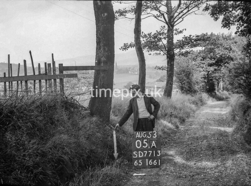 SD771305A, Ordnance Survey Revision Point photograph in Greater Manchester