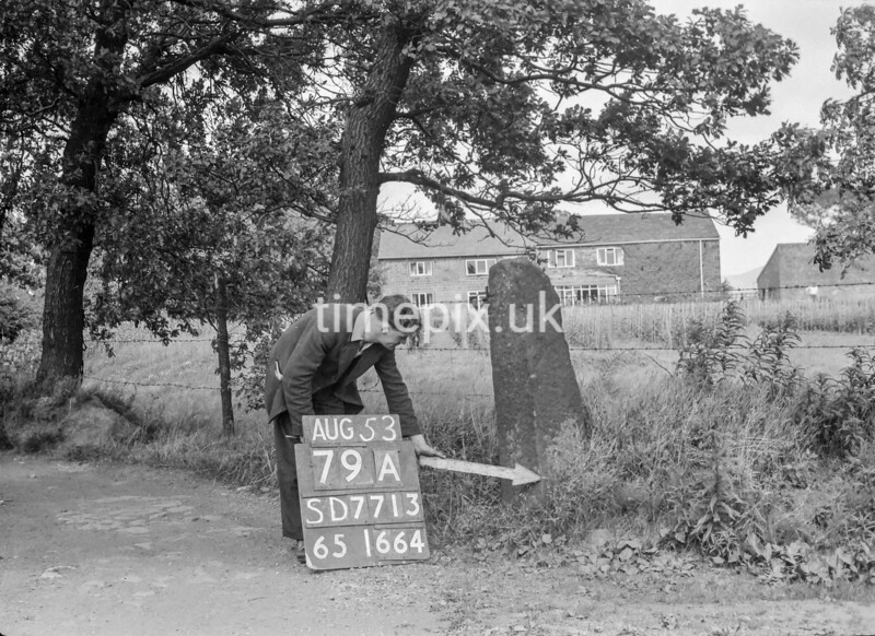 SD771379A, Ordnance Survey Revision Point photograph in Greater Manchester