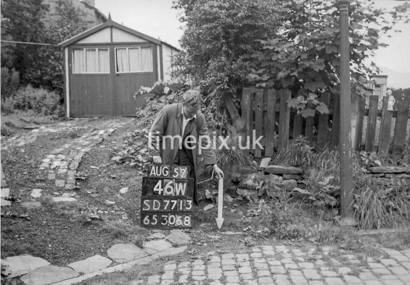SD771346W, Ordnance Survey Revision Point photograph in Greater Manchester