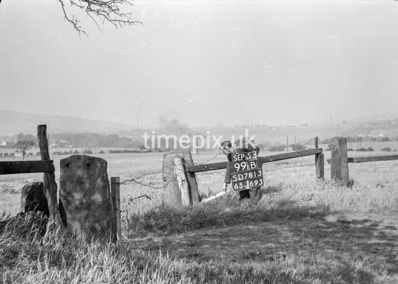 SD781399B, Ordnance Survey Revision Point photograph in Greater Manchester