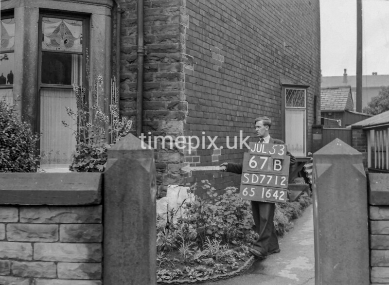 SD771267B, Ordnance Survey Revision Point photograph in Greater Manchester