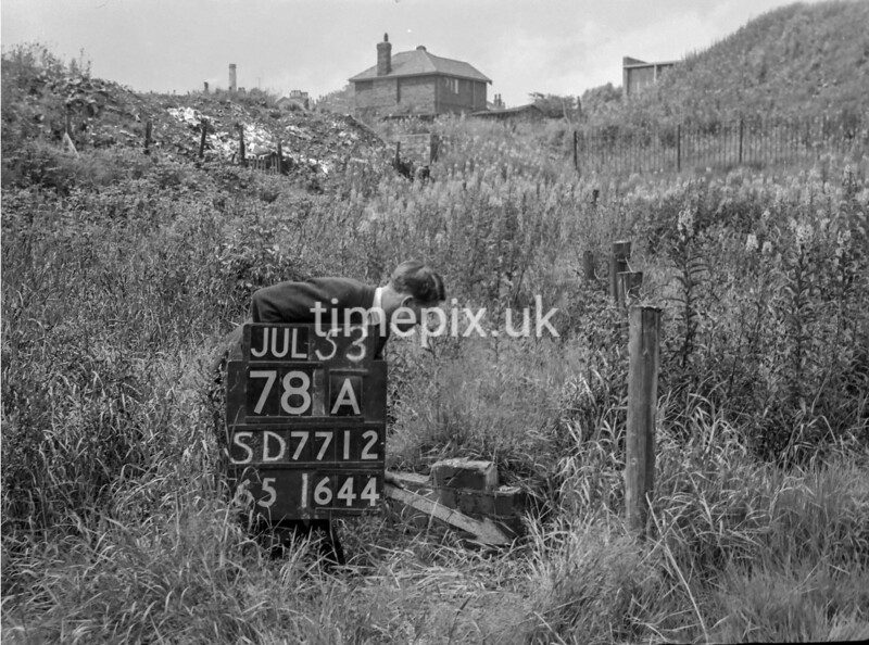 SD771278A, Ordnance Survey Revision Point photograph in Greater Manchester