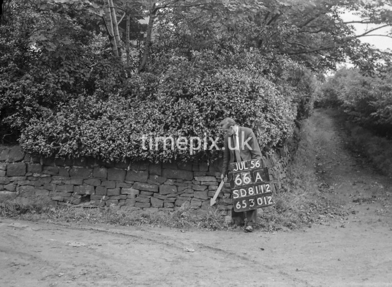 SD811266A, Ordnance Survey Revision Point photograph in Greater Manchester