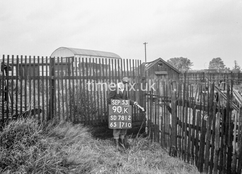 SD781290K, Ordnance Survey Revision Point photograph in Greater Manchester