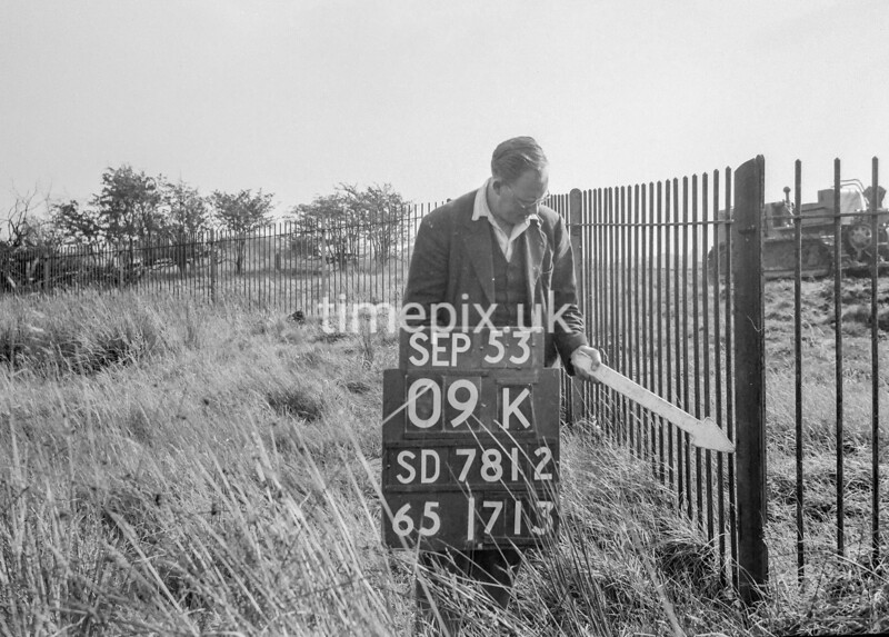 SD781209k, Ordnance Survey Revision Point photograph in Greater Manchester