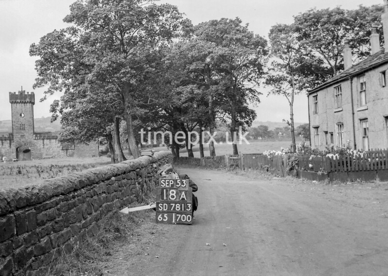 SD781318A, Ordnance Survey Revision Point photograph in Greater Manchester