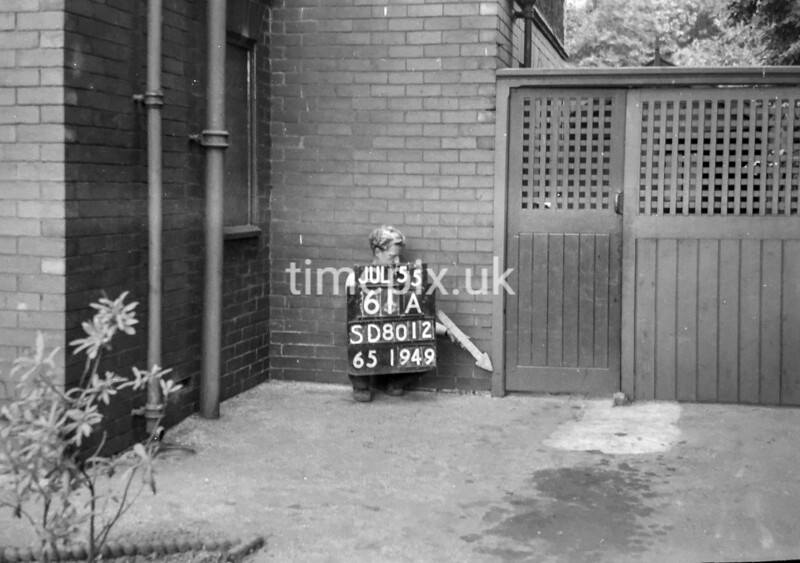SD801261A, Ordnance Survey Revision Point photograph in Greater Manchester